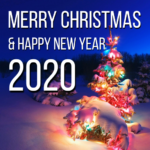 happy new year and merry christmas images 2020