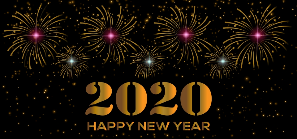 happy new year text 2020